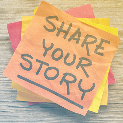 The Power of Sharing Stories