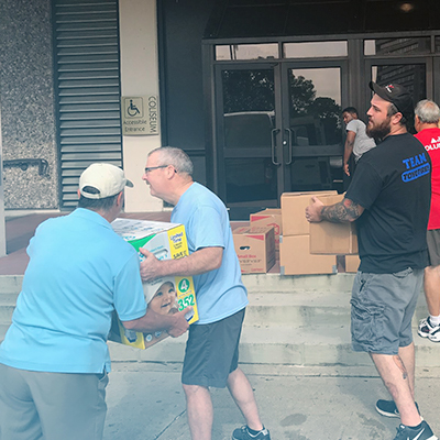 GLA Community in Baton Rouge Comes Together to Help Hurricane Harvey Victims