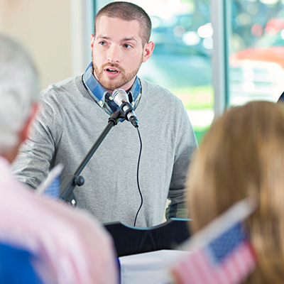 Making Your Point: Four Tips for Testifying at Public Hearings